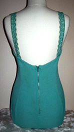 back of 50s swimsuit