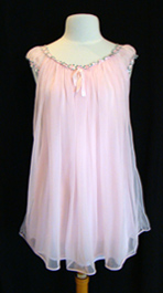 pink 1960's nightgown