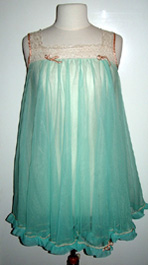 60s babydoll nightgown