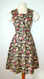 vintage 1940's pinafore