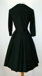 back of 50s dress