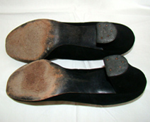 vintage 40's shoes bottoms